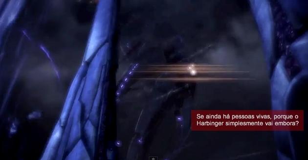 Mass Effect 3 Harbinger vai embora