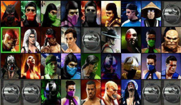 Personagens Mortal Kombat