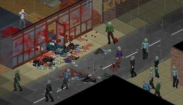 Project Zomboid chuvendo