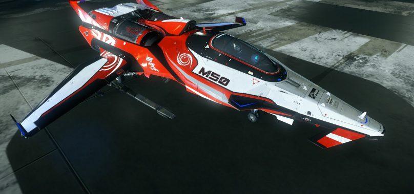 Star Citizen – M50 Interceptor First Look e Primeiras Impressões