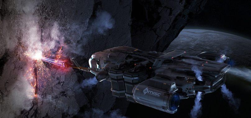 Star Citizen – Mineração confirmada para atualização 3.0